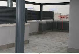 Terraza, defecto de construcción.
