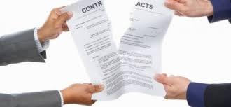 Puede rescindir el presidente un contrato a un proveedor
