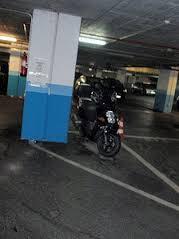 vehículo sin plaza de parking