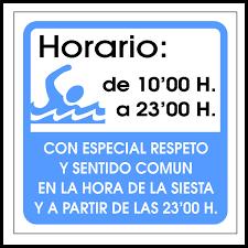 Uso de la piscina fuera horario permitido