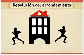 Veintisiete causas de resolución del contrato por el arrendador