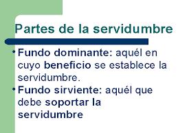 Distribución gastos mantenimiento y conservación en las servidumbres de Comunidad