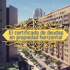 Deudas inexistentes y certificación de deudas en la LPH