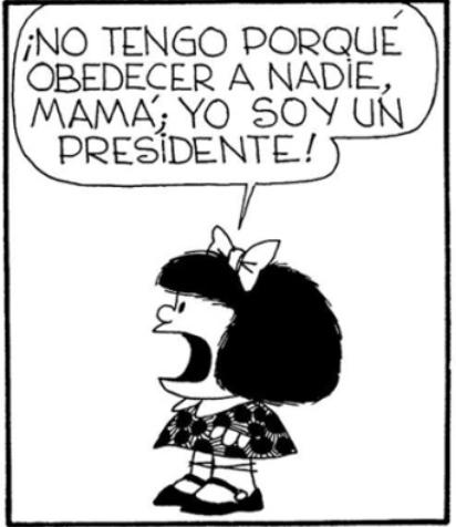 """La junta amañada. Los personajes de la Junta Rectora. Cap. XII. """"Mamá soy Presidente"""""""
