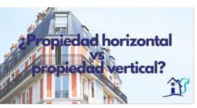 Propiedad Horizontal Vs propiedad vertical