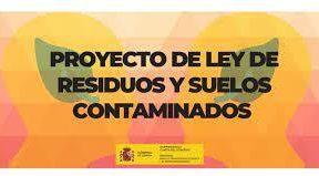 Proyecto de Ley de Residuos y Suelos Contaminados en el año 2021